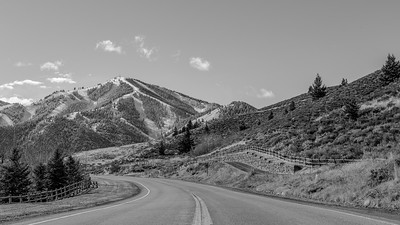 Bald Mountain From Sun Valley, Idaho