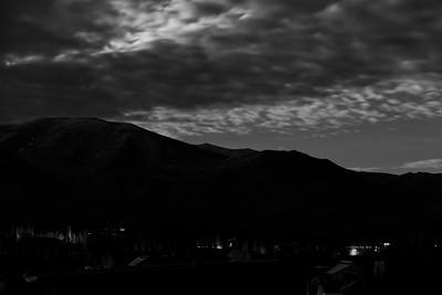 Moonlight Over Elkhorn, Sun Valley, Idaho