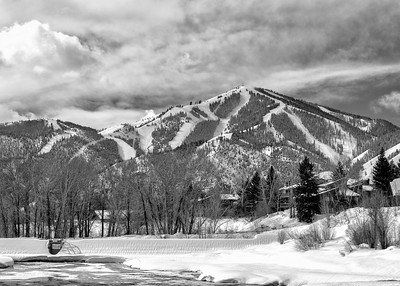 Bald Mountain Winter, Sun Valley, Idaho