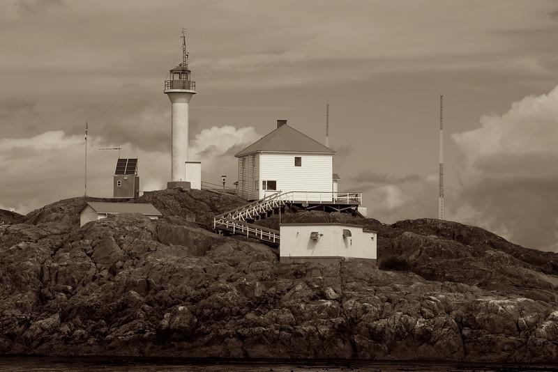 Sepia Lighthouse - Trial Island