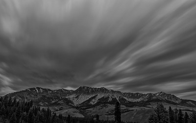 Clouds Over Idaho's Boulder Mountains