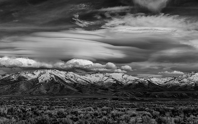 Ruby Mountains Lenticular Clouds