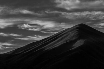 Sun Peak at Sunset, Sun Valley, Idaho
