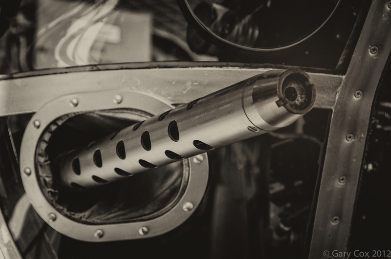 Machine Gun on B-17