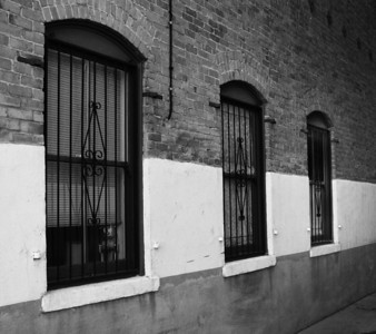 3 Windows in an Alley