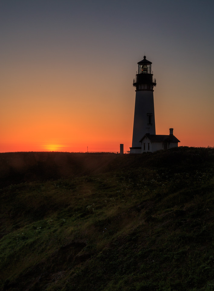 Sunset at Yaquina Head Lighthouse