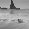 Ethereal waves at Wizard Hat, Bandon OR