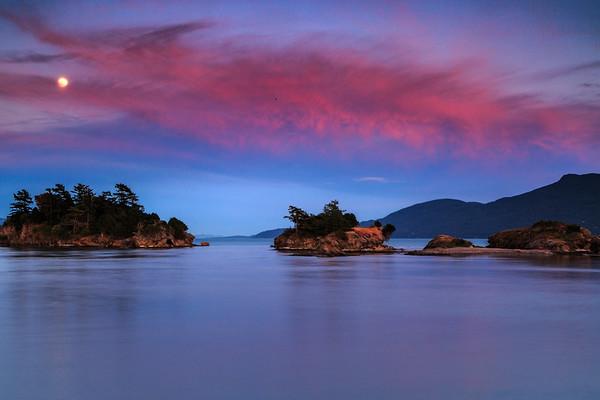 Twilight in the San Juan Islands