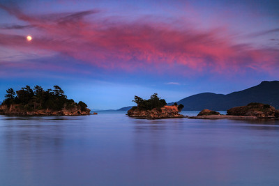 Twilight in the San Juan Islands