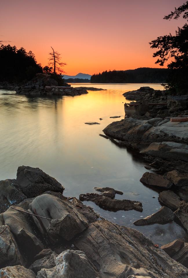 Ovens Island Sunset