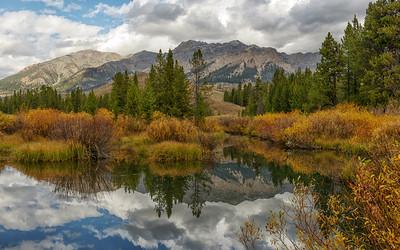 Boulder Mountains Fall