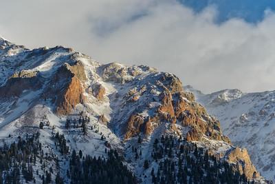 Morning Sun of the Boulder Mountains, Idaho
