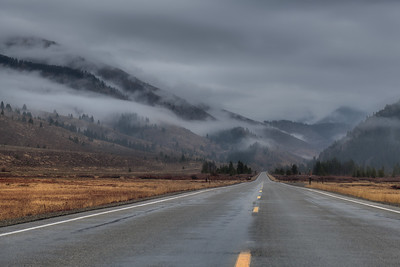 Rainy Day In the Boulder Mountains of Idaho