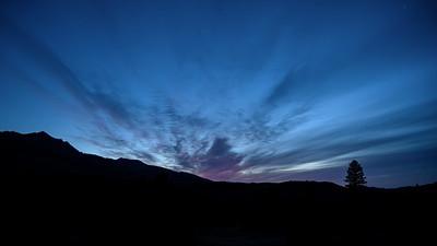 Boulder Mountains Sunrise