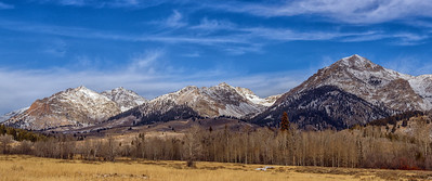 Boulder Mountains of Idaho