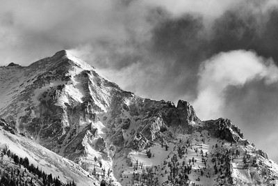 Boulder Peak Storm, Idaho