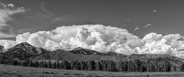 Boulder Mountains Storm