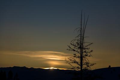 Sunrise Boulder Mountains, Idaho
