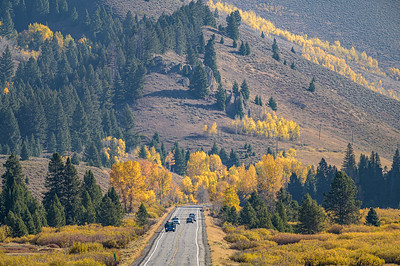 Fall on Phantom Hill, Idaho