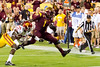 Arizona State running back Marion Grice scores one of his four touchdowns during ASU's 62-41 victory over Southern California on Sept. 28, 2013. Credit: Buckeye Valley News Photo by Michael Rincon - For Editorial Purposes Only