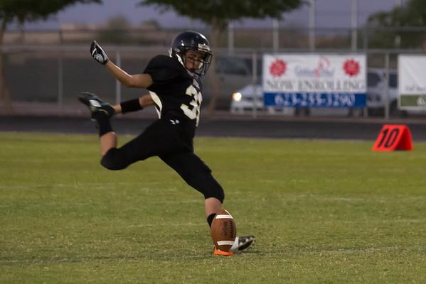 Football Verrado Freshman vs Dysart 10/19/2011