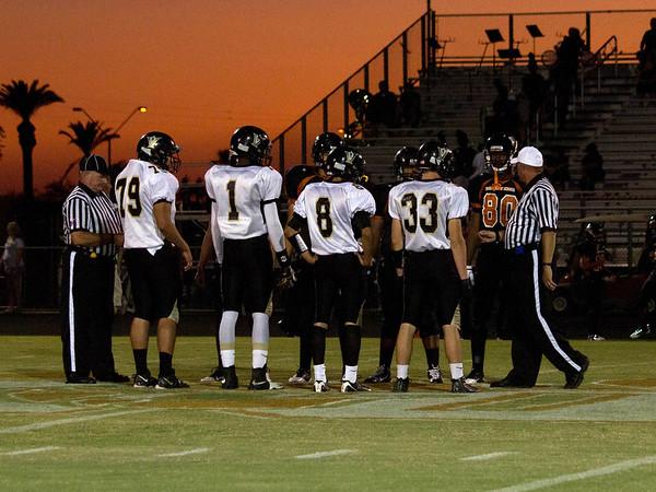 Football Verrado Varsity vs Desert Edge 9/16/2011
