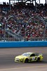NASCAR driver Carl Edwards leads the race en route to victory during the Subway Fresh Fit 500 at Phoenix International Raceway on March 3, 2013.