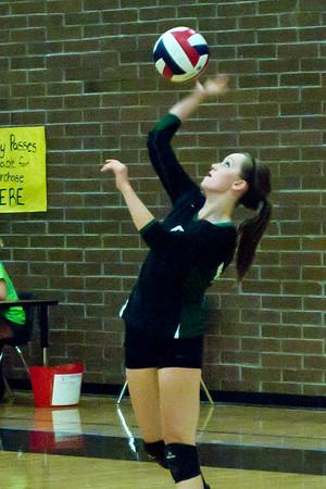 Volleyball Verrado Varsity vs Youngker 9/6/2011