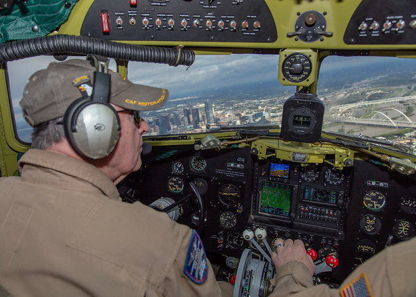 """CAF C-47 """"That's All Brother"""" over Dallas.  25 Oct 2018"""