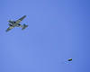 """Paratroopers exiting C-47 """"That's All Brother"""" at CAF Wings Over Dallas 2018."""