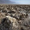 Salt Deposits in a Desert, Devils' Golf Course, Death Valley, California