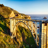 Arch Bridge Over the Bixby Creek, Big Sur Coast, Highway One, California