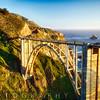 Arch Bridge Over the Bixby Creek, Big Sur Coast, Highway One, California