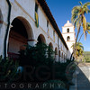 Arches of a Mission, Mission Santa Barbara, California
