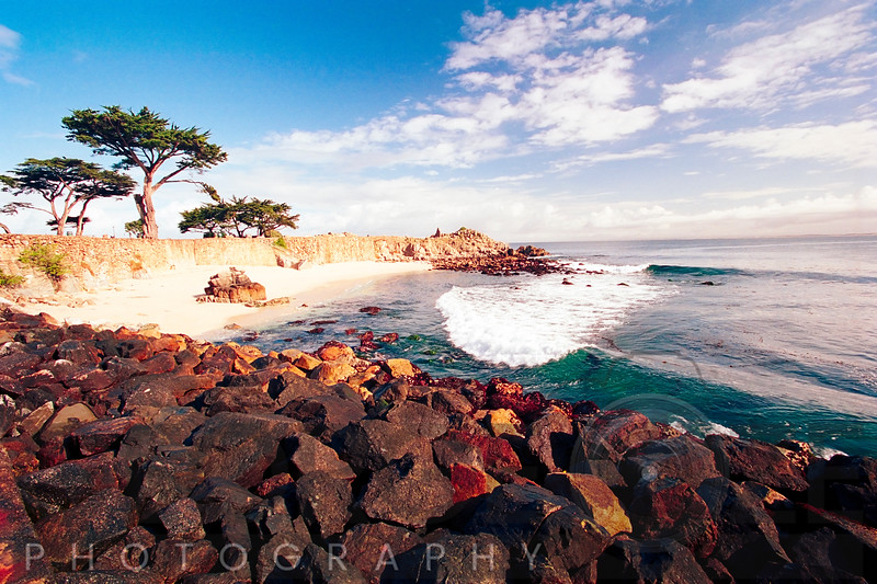 Pacific Grove Bay at Lovers Park, California