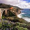 View Of The Bixby Creek Bridge Big Sur California