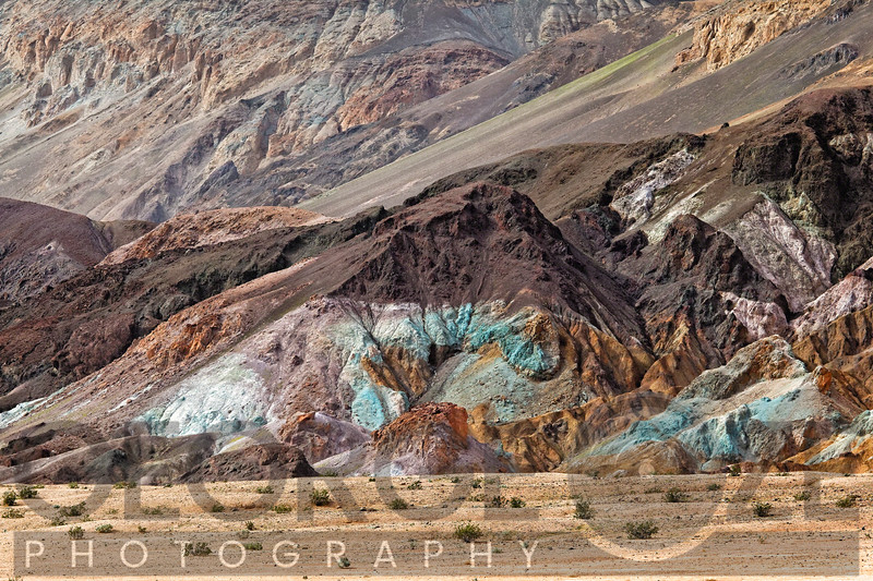 Artist's Palette in Death Valley National Park, California