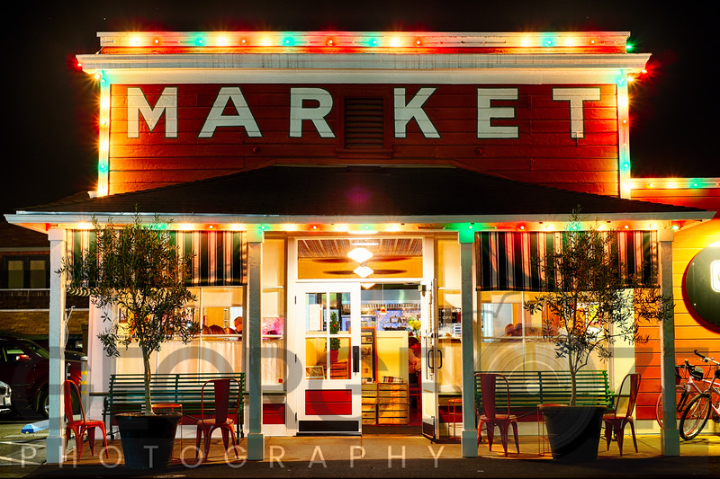 Classic Napa Valley Market at Night,