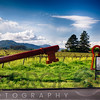 Large Key Sign  In Napa Valley, Blackbird Vinery, Napoa Valley, California