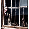 Old Articles in a Window, Bodie State Historic Park, California