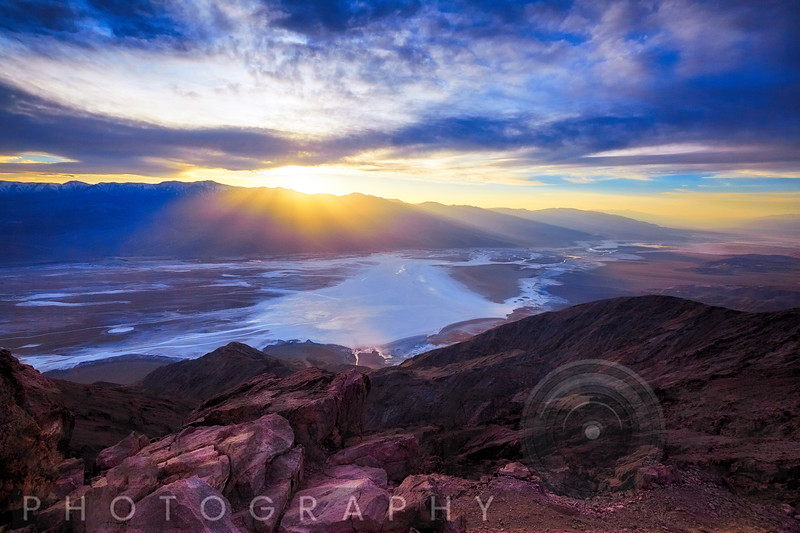 Dante's Point Sunset, Death Valley, California