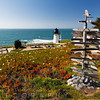 Lighthouse  at Montara Point, Pacific Coast, California