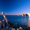Tufa Towers in Mono Lake, California