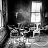 House Interior in Bodie Ghost Town, California
