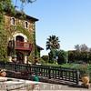 Tuscan Style Building, V. Sattui Winery, St Helena, Napa Valley, California