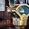 Classic Brass Chadburn of an Ocean Liner