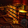 Oak Barrels and Casks in a Cellar, Sterling Winery, Calistoga, California
