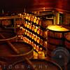 Oak Barrels and Casks in a Cellar, Sterling Winery, Calistoga, California