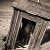Ghost Town Outhouse, Bodie State Historic Park, California