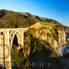 Panoramic View of Big Sur Coast at the Bixby Creek Bridge, California